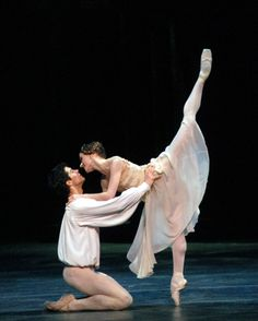 Romeo and Juliet, featuring Irina Dvorovenko.  Perfect expression of love and acting.