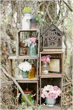 A Wonderfully Rustic & Whimsical Styled Bridal
