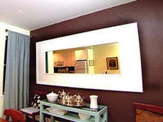 Weekend Project: Build a Mirror Frame : Decorating : Home & Garden Television