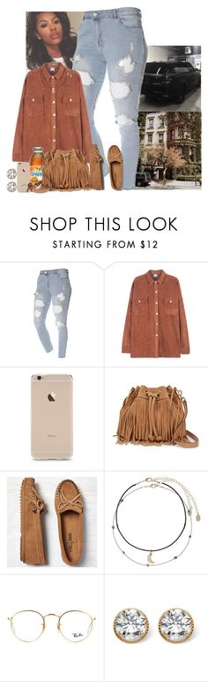 """✨"" by jemilaa ❤ liked on Polyvore featuring Rebecca Minkoff, Minnetonka, Accessorize, Ray-Ban, Palm Beach Jewelry and Crate and Barrel"