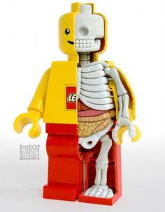 Any med student would love to have this Lego Man as a lucky totem.