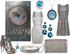 Pawn - http://myfashionobsessedlookbook.blogspot.com/2013/11/book-looks-25-pawn-by-aimee-carter.html