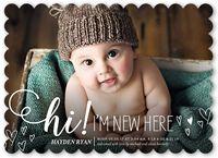 Neutral Birth Announcements & Baby Birth Announcement Cards | Shutterfly
