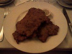 Viennese Schnitzel @ Restaurant Zum Schwarzen Kameel