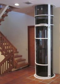 Vision 350 Home Elevator Typical Costs 15 000 16 Square Foot Hydraulic Inspiration House Elevation Tiki