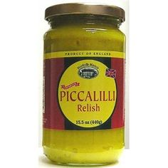 """Mrs. Glover had sent for George, along with a little jar of her famous piccalilli."" - Kate Atkinson #lifeafterlife /Norfolk Manor Piccalilli Relish"