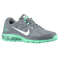 new styles aa573 98bbf Nike Air Max Defy Run - Women s grey with mint green  94.99 running shoe  Lady Foot