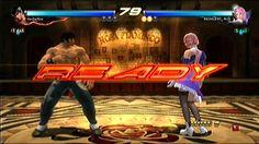 Tekken Tag Tournament 2 - Online Fight - Law vs Alisa (нескучный бой 7)