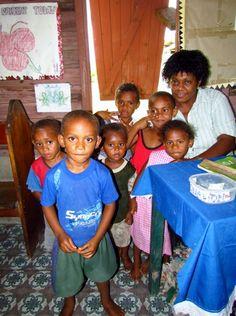 People of Viwa Island Fiji.