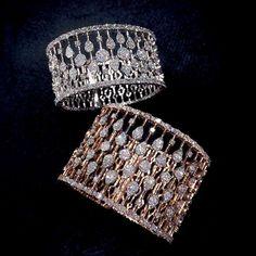 Diamond Bracelets Cuffs & Bangles : Best Diamond Bracelets : Cuff up and get ready for the weekend Diamond Pendant Necklace, Diamond Bracelets, Ankle Bracelets, Jewelry Bracelets, Diamond Jewellery, Jewellery Sale, Ruby Diamond Rings, Craft Jewelry, Silver Bracelets