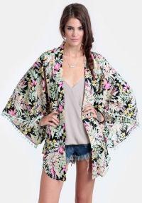 Amazonas Floral Kimono By Reverse