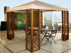 A fascinating, vintage and unique #gazebos that can build outside of your home or in your garden. An outdoor #accessory that everyone love.