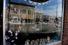 Spring  Cherry Blossom Paperie Window Display