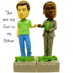 shawn and gus talking bobble heads. a must have for my mantelpiece.