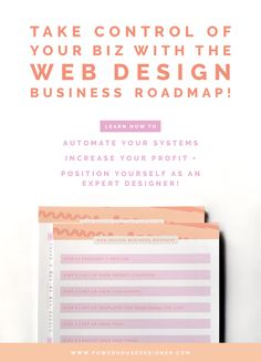 I know first hand that there aren't a lot of resources to help website designers get our business shit together. If there were, I bet I could've saved myself about a million hours of stress, overwhelm and confusion!  But girl I got you! I have a FREE business roadmap with the TEN ESSENTIAL THINGS you should think about if you want to streamline your web design business and step into the best, most confident version of yourself possible! Click through to download → Web Design, I Got You, Confusion, Project Yourself, Business Design, Design Process, Graphic, Confident, Stress