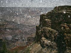 Tent-Camera Image On Ground: View Of The Grand Canyon From Mohave Point, 2012
