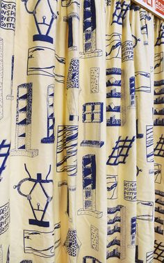 Sotsass Curtains, Laura Davies (2008). 'Politics of Craft: After Ford 151', (2015) Reid Gallery, The Glasgow School of Art Photo: Alan Dimmick