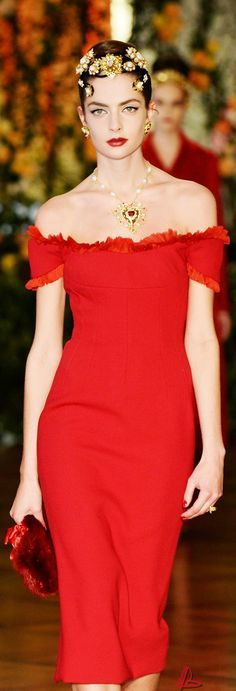 @roressclothes closet ideas #women fashion outfit #clothing style apparel red long dress