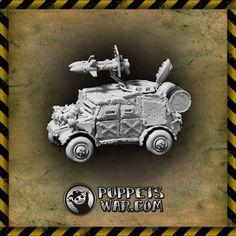 puppetswar.eu - Orc Gruberwagen