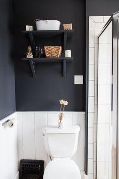 White and Dark Grey Jaimee & David's Light & Simple Scandinavian-Inspired Home