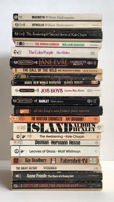 Some favourite classics + future reads
