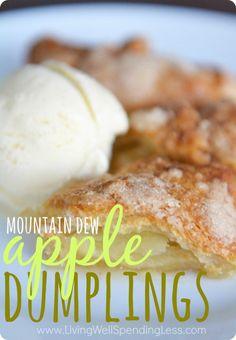Be Warned Not Good For You In Any Way! Mountain Dew Apple Dumplings | Mountain Dew Apple Pie Recipe