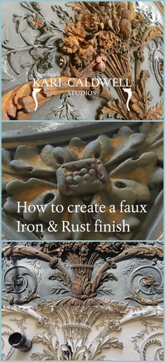 Learn to create faux finishes and textures to carved surfaces and more! https://sellfy.com/p/nW6c/