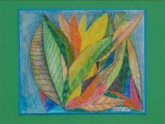 RA Summer Exhibition 2015 work 343 :LEAF LUNACY by Leonard Manasseh RA, £650.