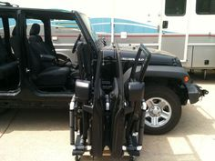 Jeep Wrangler door storage cart & Jeep Wrangler JKU Door Holder/ Storage Cart | Door holders Storage ...
