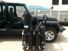 Jeep Wrangler door storage cart