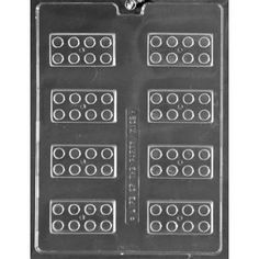 Building Blocks Chocolate Candy Mold - Perfect for Lego Party