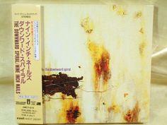 CD/Japan- NINE INCH NAILS The Downward Spiral +1 bonus trk w/OBI & SLIPCASE 1994 #AlternativeIndieIndustrialElectric
