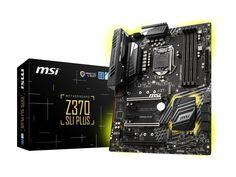 MSI Z370 SLI PLUS LGA 1151 (300 Series) Intel #globalscope #qatar #qatardeals #qataroffers http://www.globalscope.qa/Z370-SLI-PLUS