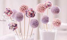 Prinzessinnen-Cakepops
