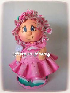 Fofuchas Sewing Dolls, Clay Art, Princess Peach, Harajuku, Polymer Clay, Projects To Try, Santa, Christmas, Handmade