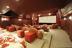 Hamptons Houses with Tricked-Out Home Theaters