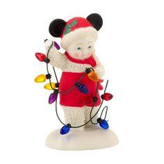 SNOWBABIES - DEPT 56 - DISNEY Lighting up Christmas like Mickey Mouse