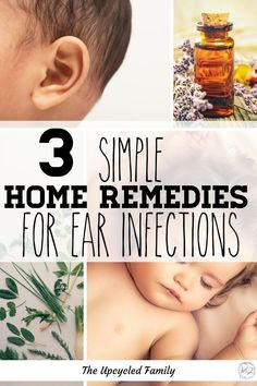 3 Natural ear infection home remedies for kids, babies (or adults) that work quick. For natural remedies for that painful ear infection with items you likely have in your kitchen right now! #earinfectionremedy #earinfectionremedyforkids #earinfectionremedyforadults #earinfectionremedyforbabies #earinfectionpainrelief #naturalremedies #earinfection Natural Ear Infection Remedy, Natural Remedies For Allergies, Natural Headache Remedies, Cold Home Remedies, Cough Remedies, Natural Remedies For Anxiety, Natural Health Remedies, Herbal Remedies, Holistic Remedies