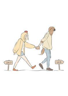 Gallery - CHXRRY.PIE Cute Couple Drawings, Cute Couple Art, Cute Drawings, Couple Illustration, Character Illustration, Cute Couple Wallpaper, Kawaii Wallpaper, Wallpaper Desktop, Girl Wallpaper