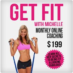 #Lose #Weight & Get Fit with Michelle Marie with her Personalized Workout Programs, Detailed #HEALTHY Meal Plans, #Recipes, and Strategies to SPEED #Fat Loss & Muscle Gain.