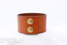 EPBOT: DIY Leather Cuff Bracelets - Now With Old Keys!
