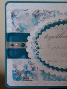 Detailed shot of Wedding Card