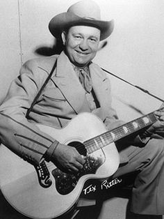 Tex Ritter, singer, actor, father of Jack Ritter, born in Murvaul, Tx.