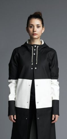 Stockholm Long Raincoat – Stutterheim Raincoats- Because you can never have too many raincoats