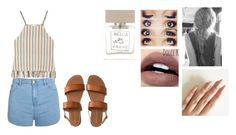 """Tuesday"" by isabellasmall on Polyvore featuring Ally Fashion, Miguelina, Aéropostale and Bella Freud"
