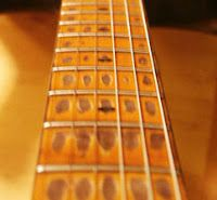Aged neck by Bill Nash - How To Relic Guitar Resources at Stratoblogster Guitar Blog.