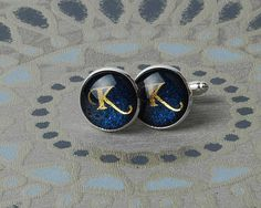 Personalized Cufflinks - with Initial letter from mozzin by DaWanda.com
