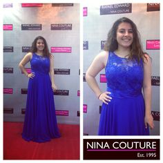 Say YES to the dress with Canada's Largest Designer Dress Selection at Nina's Collection Boutique. Prom Girl, Yes To The Dress, Prom Dresses, Formal Dresses, Royal Blue, Designer Dresses, Beautiful Dresses, Toronto, Bridesmaids