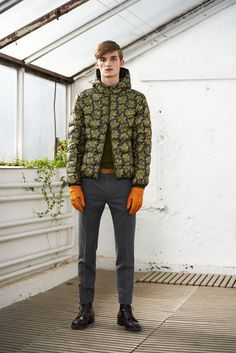 Charlie Westerberg Layers with GANT Rugger Fall/Winter 2014 image GANT Rugger Fall Winter 2014 Collection 007
