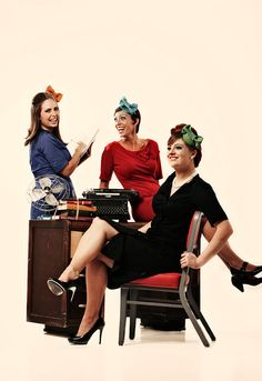 1960's style headbands